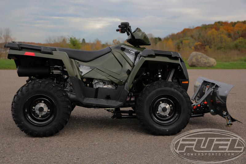 polaris sportsman 450 with snow plow motorcycles for sale. Black Bedroom Furniture Sets. Home Design Ideas