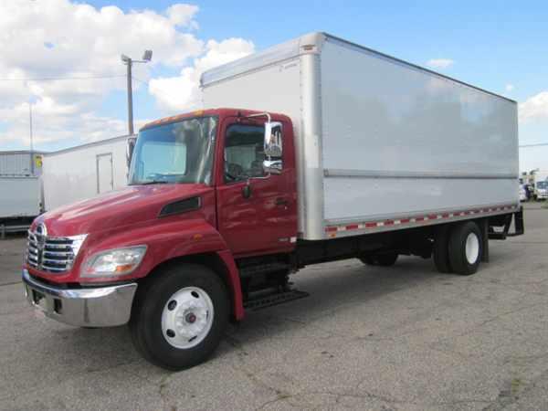 2008 Hino Hino 268  Box Truck - Straight Truck