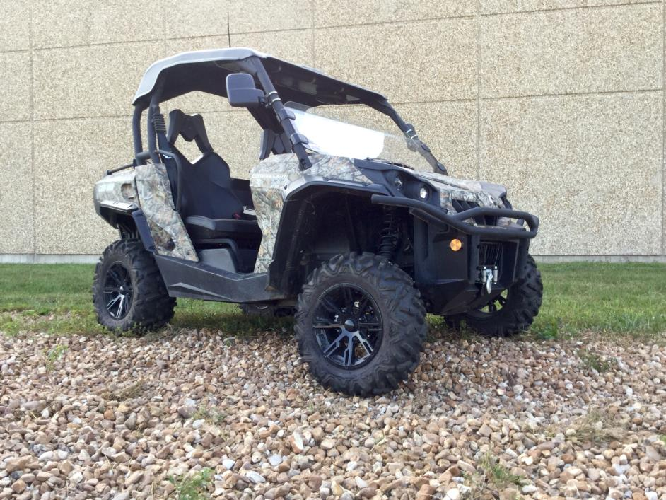 Can Am Commander 800r Xt Camo Motorcycles For Sale