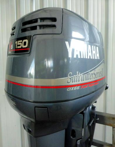 Yamaha outboard lower unit boats for sale for Yamaha 150 2 stroke fuel consumption
