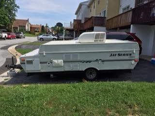 2007 Jayco 1008 Series Pop Up Camper