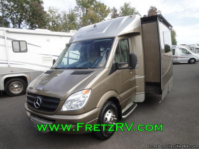 Certified 2011 Leisure Travel Van Unity Mercedes Motorhome for Sale Fretz RV...