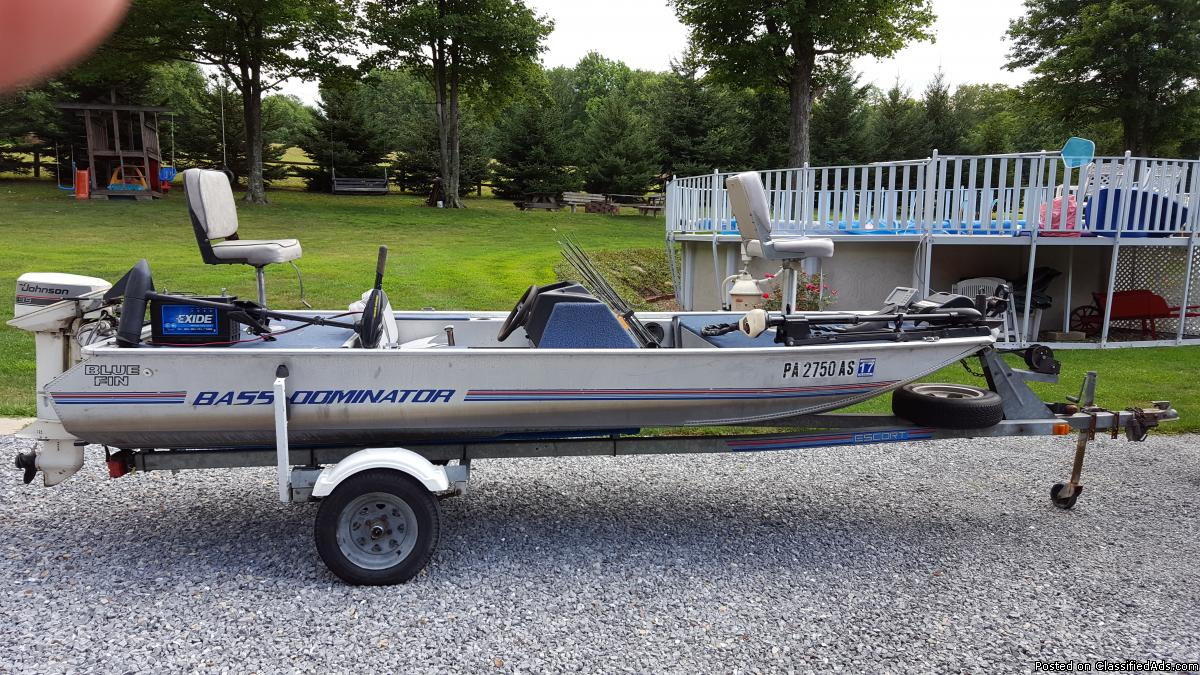 16 ft. ALUMINUM BASS BOAT