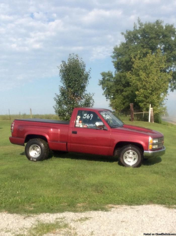 1990 Chevy step side