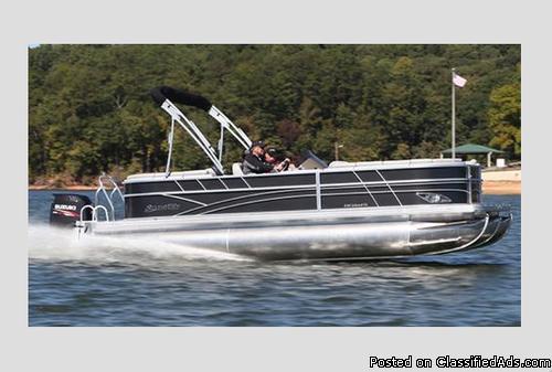 2015 Silver Wave Tritoon 230 Island CL