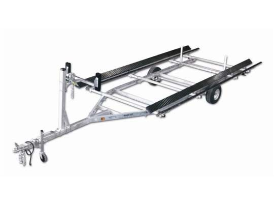 2014 Magic Tilt Galvanized Pontoon Series - Single Axle
