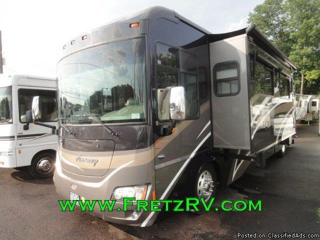 Used 2010 Winnebago Journey 40L Diesel Motorhome For Sale At Fretz RV...