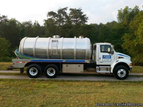 2004 Sterling Septic Truck