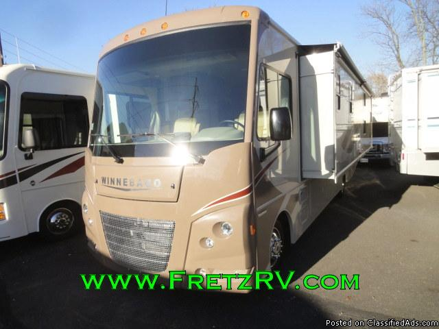 New 2016 Itasca Winnebago Sunstar 31BE Class A Motorhome for Sale Fretz RV...