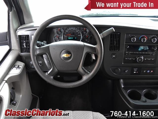 Used Passenger Van Near Me – 2014 Chevrolet Express Passenger LT 3500 with 15...
