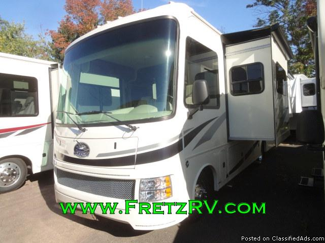 New 2016 Jayco Alante 30M 30 Foot Class A Motorhome For Sale Fretz RV...