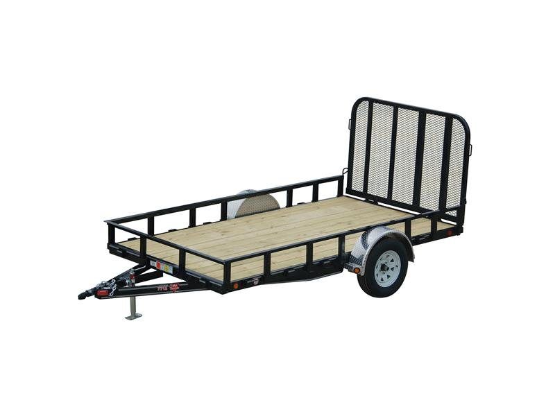 2015  PJ Trailers  77 in. Single Axle Channel Utility (U7)