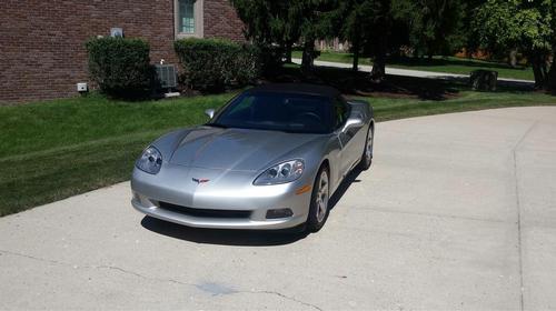 2005 Chevy Corvette Convertible