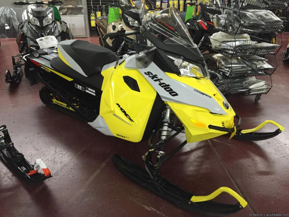 SALE! New 2015 Ski-Doo MX Z TNT ETEC 800 Snowmobile #1499 - $9295 (Jim Potts...