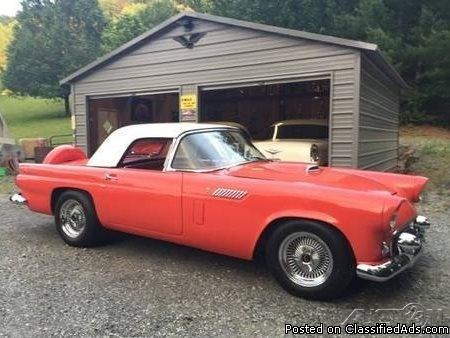 1956 Ford Thunderbird Hardtop Convertible For Sale in Ferguson, North Carolina ...
