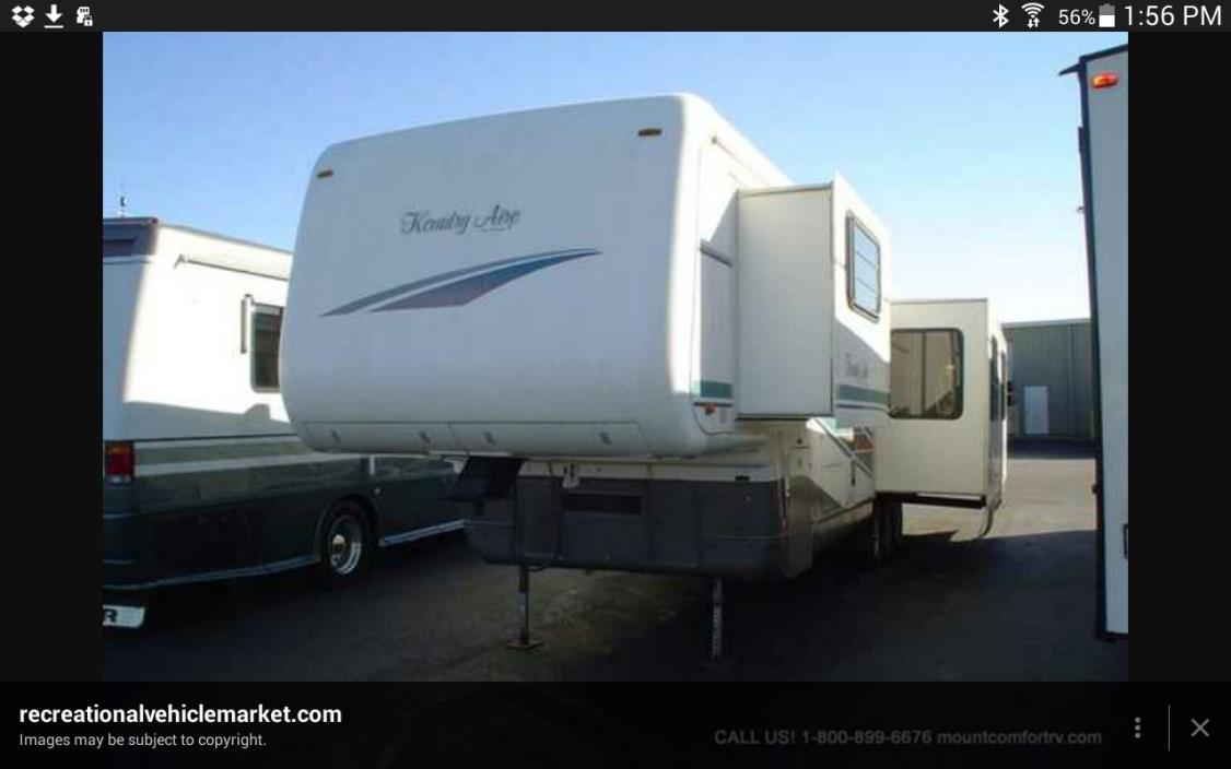 1997 Newmar Kountry Aire 40LDSK