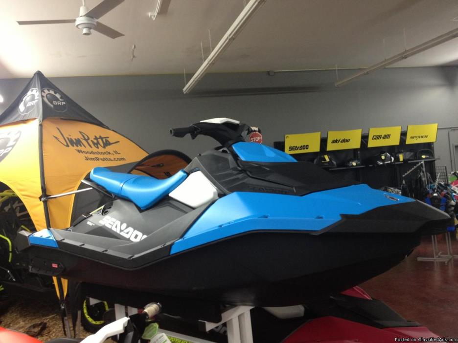 LABOR DAY SALE! New 2016 Sea-Doo Spark 2-Up Personal Watercraft - $5295 (Jim...