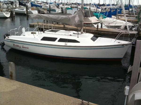1996 Catalina 250 Water Ballasted