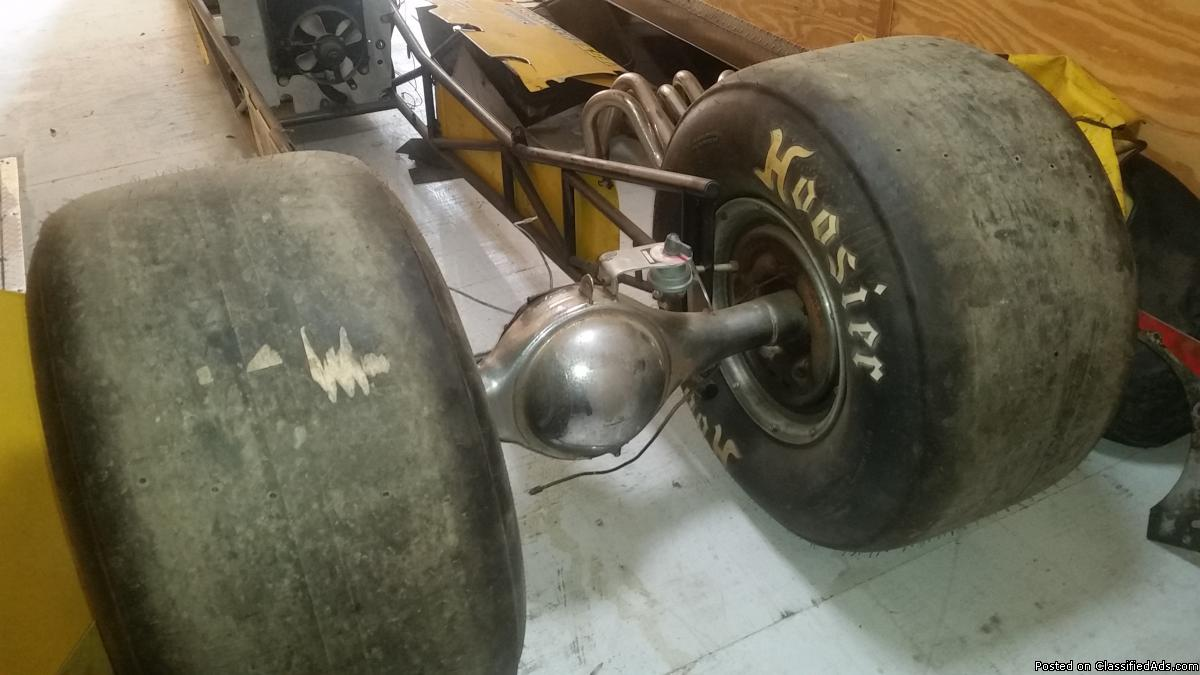 DRAGSTER, DRAG TRAILER AND ONE FOR PARTS
