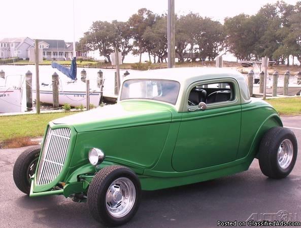 1934 Ford 3-Window Coupe For Sale in Kill Devil Hills, North Carolina  27948