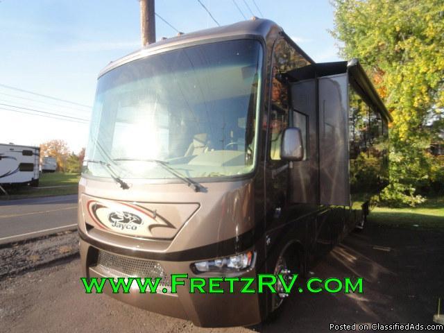 NEW 2016 Jayco Precept 35UP Class A Motorhome for Sale Fretz RV Classified Ads...