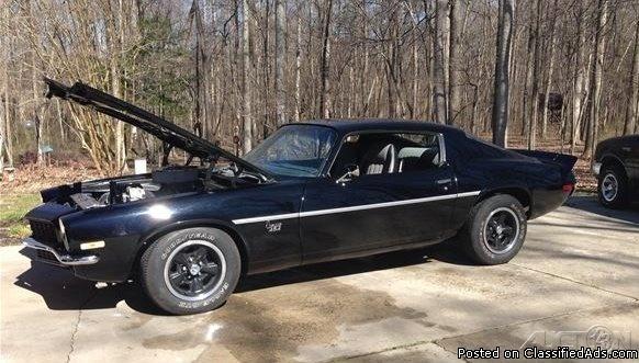 1971 Chevrolet Camaro For Sale in China Grove, North Carolina  28023