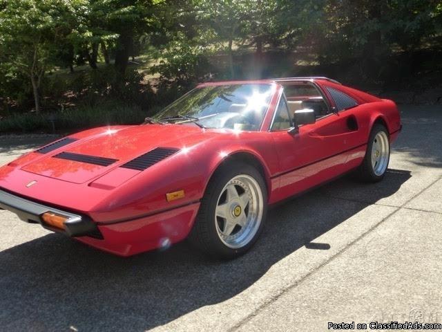 1985 Ferrari 308 GTSi QV For Sale in Corvallis, Oregon 97333