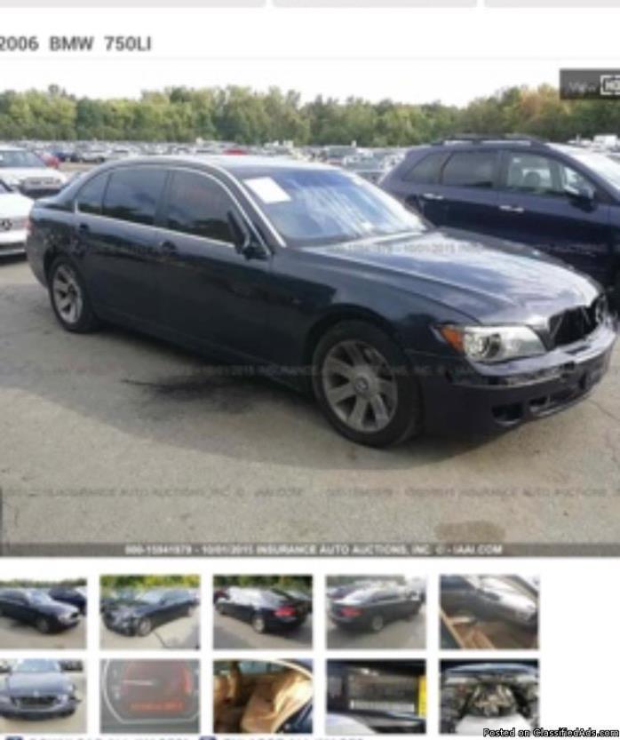 2006 BMW750il