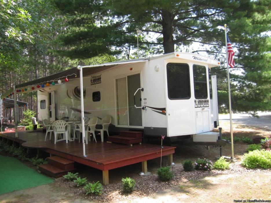 2013 39ft Forest River Lodge trailer