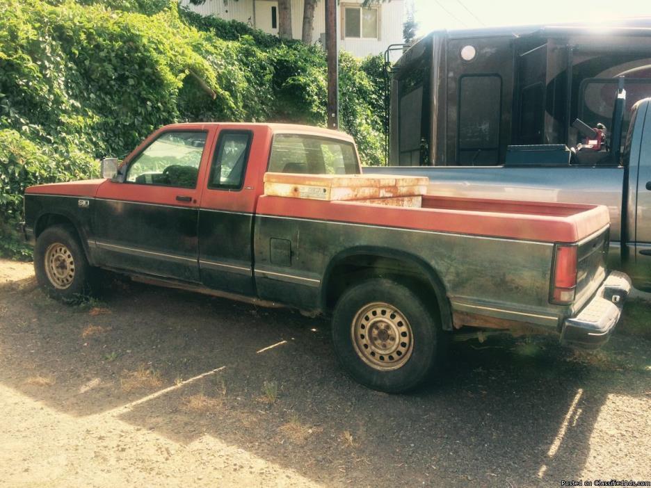 1987 S10 truck