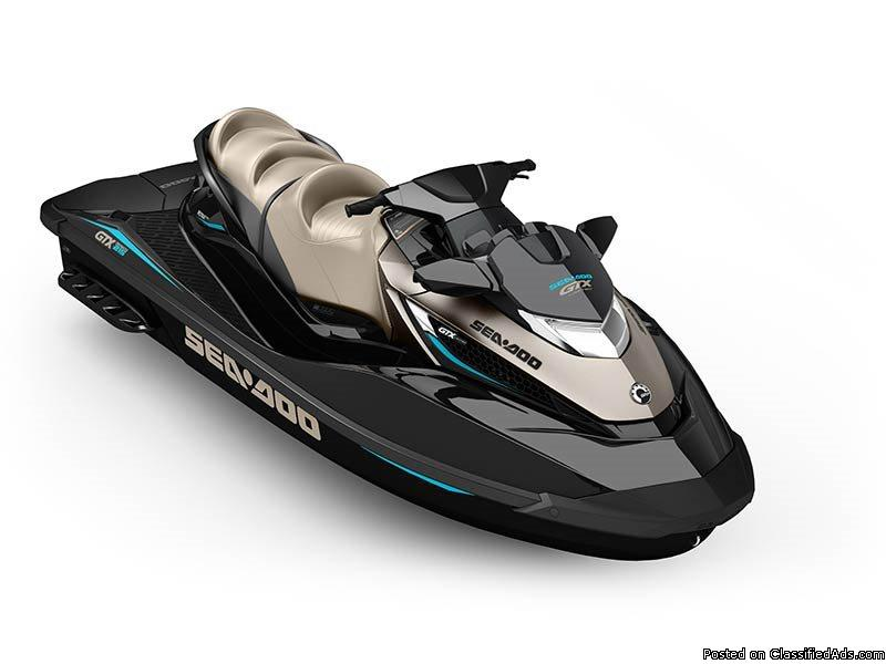 SALE! New 2016 Sea-Doo GTX Limited 215 Personal Watercraft #1611 $12995