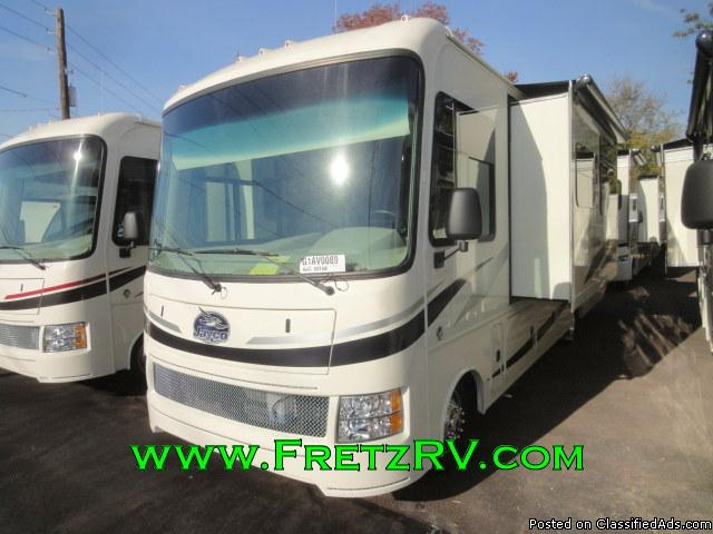 New 2016 Jayco Alante 30V 30 Foot Class A Motorhome for Sale Fretz RV...