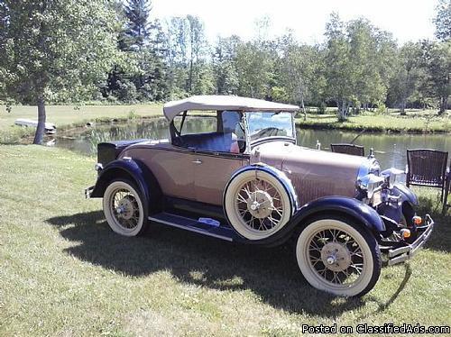 1929 Ford Model A 2 Door Roadster