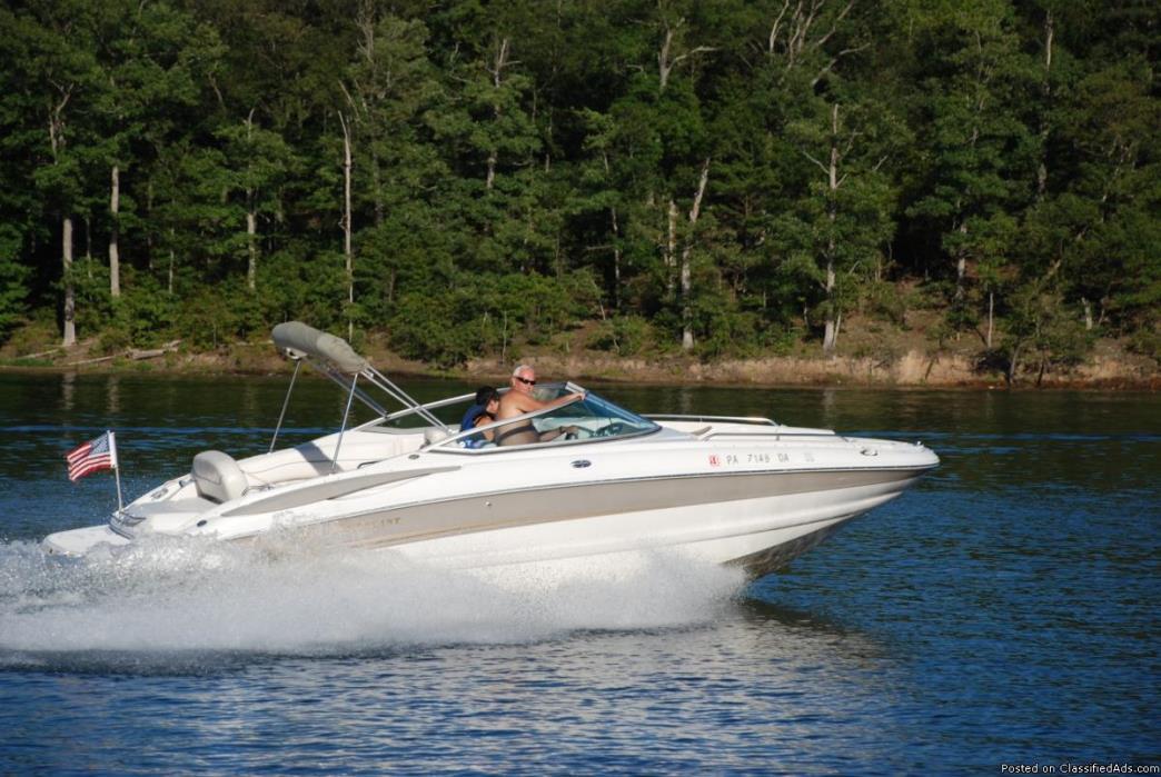 For Sale - 2004 Crownline Deck Boat
