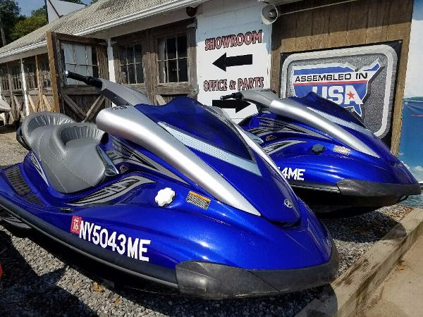 Yamaha waverunner fx cruiser boats for sale in new york for Yamaha fx cruiser