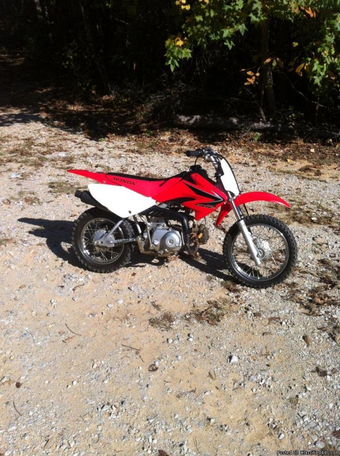 Honda 70cc dirt bike motorcycles for sale for Used dirt bike motors for sale