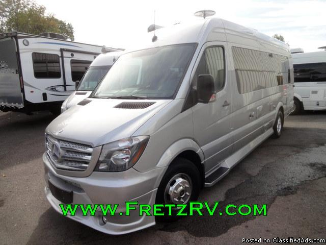 Dodge Sprinter Van Class B Motorhome Vehicles For Sale