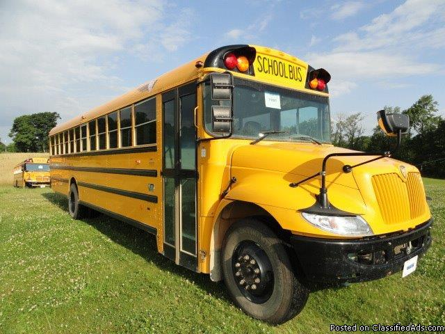 2014 IC CE 71 Passenger Used Bus 7.6 DT466 Engine (118987MI)