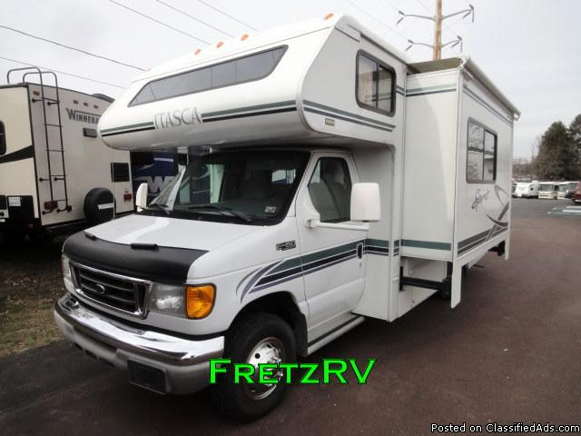 Used 2004 Itasca Winnebago Spirit 24F Class C Motorhome For Sale Fretz RV...