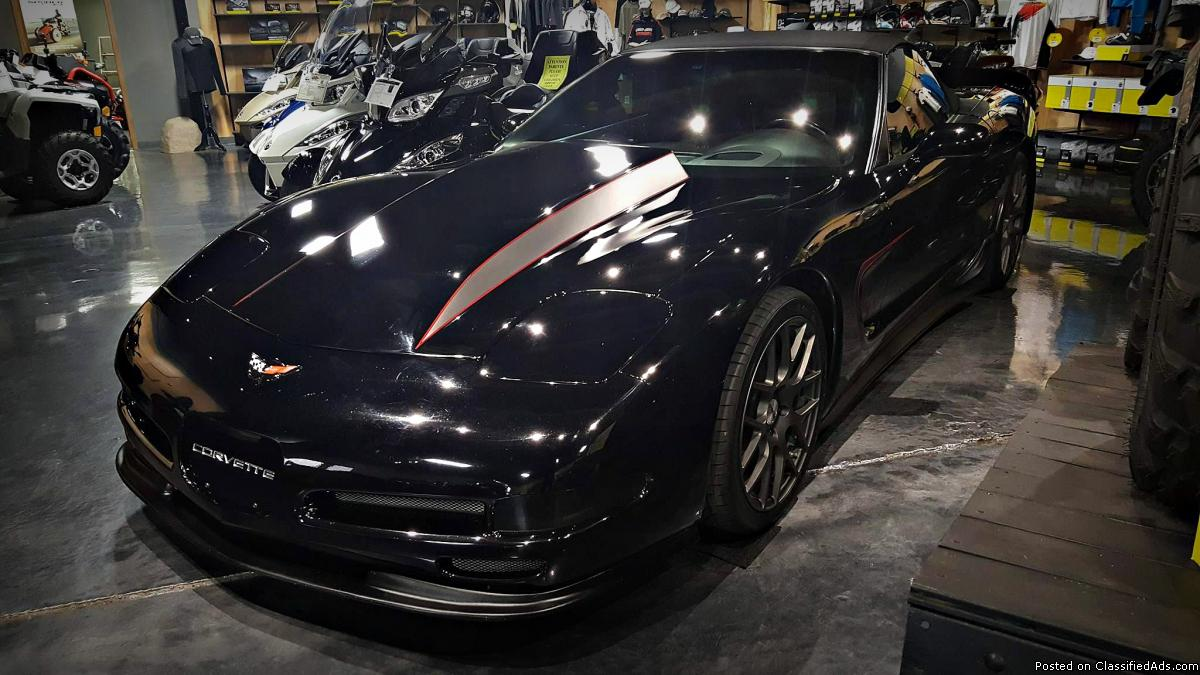 UNIQUE CUSTOM 2004 Chevrolet Corvette Convertible in Black - $19995 (Jim Potts...