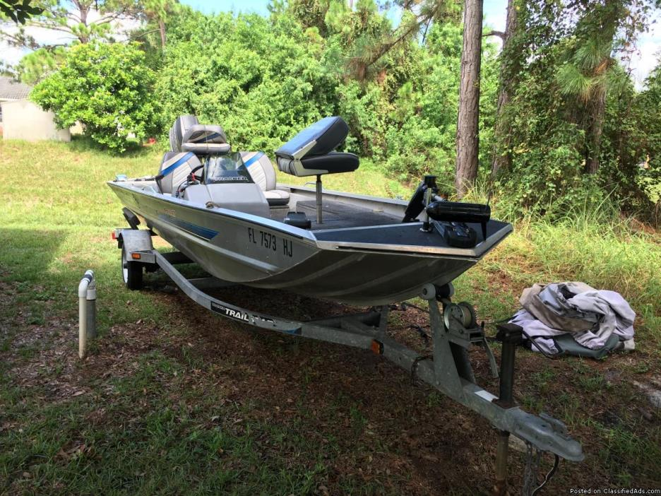 1993 johnson tracker boats for sale for Bass boats with evinrude motors