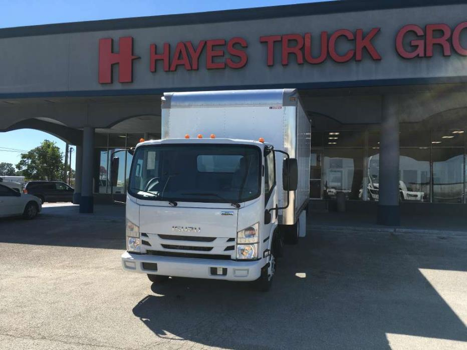 2016 Isuzu Npr-Hd Gas  Box Truck - Straight Truck
