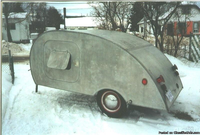 1939 KIT Tear Drop Camper Trailer For Sale in Thunder Bay, North Carolina 28792