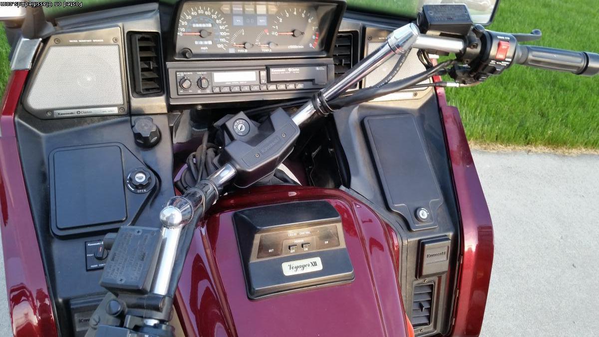 2001 Kawasaki Voyager XII 1200