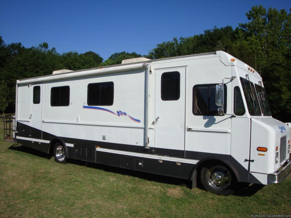 Class a motor home motorcycles for sale for Motor home class a