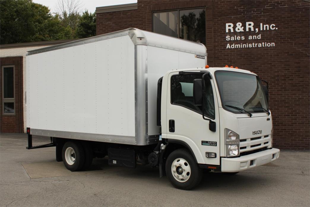 2014 Isuzu Npr Eco Max  Box Truck - Straight Truck
