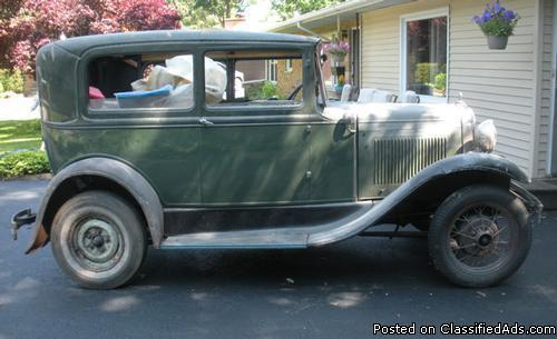 1931 Ford Tudor Model A