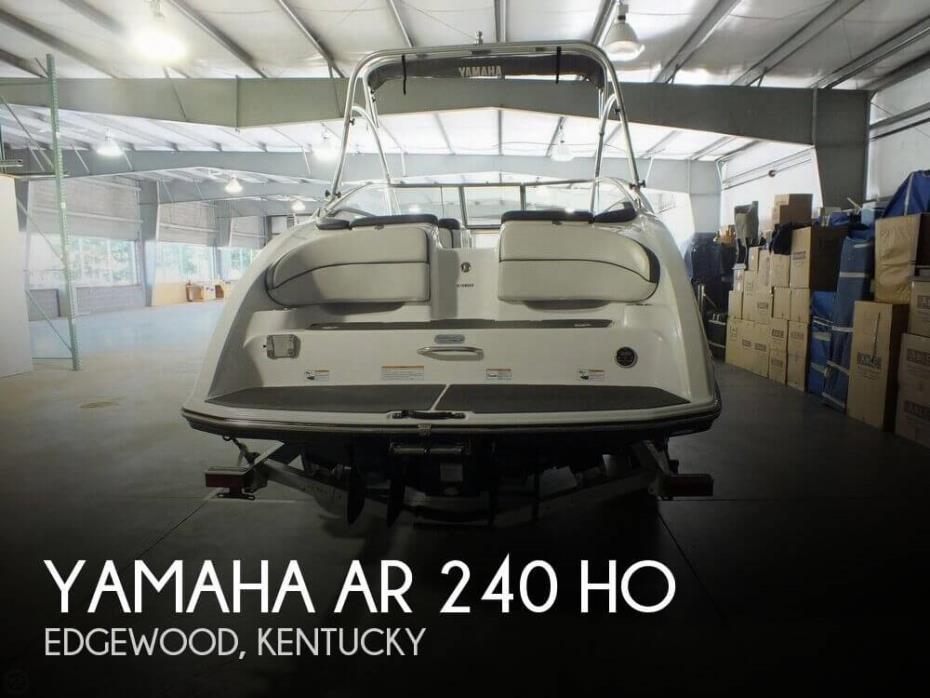 2013 Yamaha AR 240 HO