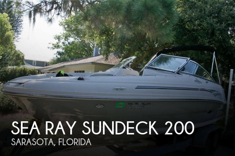 2006 Sea Ray SunDeck 200