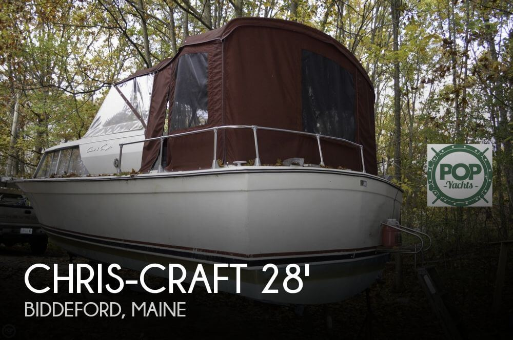 1969 Chris-Craft 27 Commander